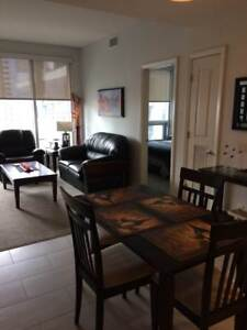 Stay in the heart of Calgary! All Inclusive Furnished 2 Bedroom!