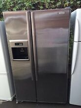 stainless steel 640 liter side by side westinghouse fridge, can d Mont Albert Whitehorse Area Preview