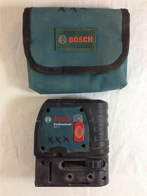 Bosch GPL3 3 Point Self Leveling Laser Alignment Level Red Color With Soft Case