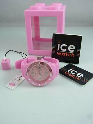 Ice SI.PK.U.S.09 Sili Collection Pink Plastic and Silicone Watch