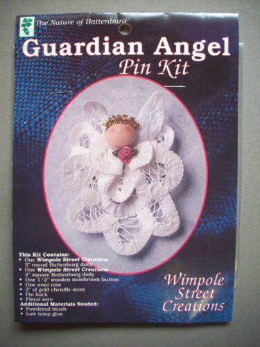 Guardian Angel lace pin kit unopen