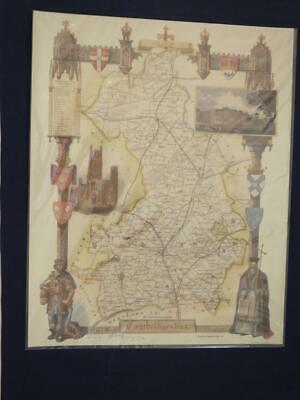 Reproduction Antique Map Cambridgeshire 16 x 20 inches.