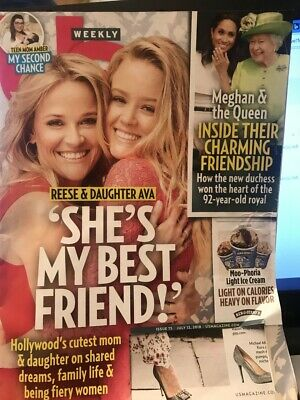 US Weekly Magazine - July 12, 2018 - Reese & Daughter Ava - She's My Best