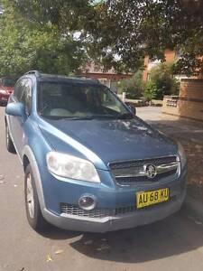 **2008 Holden Captiva CX Auto Diesel 4x4 7 seater $7999 ONO*** Homebush West Strathfield Area Preview