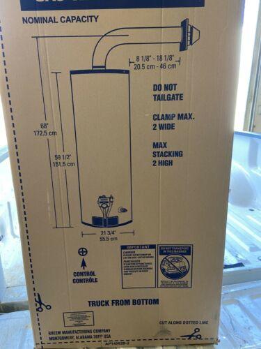 Rheem 50 gal 36,000 BTU Pro Classic Tall Direct Vent Res Nat Gas Water Heater