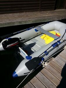 Sea Eagle 8.6 ft inflatable boat with mercury 2.5hp