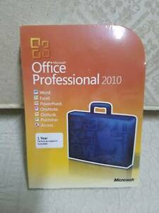 Microsoft Office Professional 2010 Retail FULL VERSION BRAND NEW Mill Park Whittlesea Area Preview