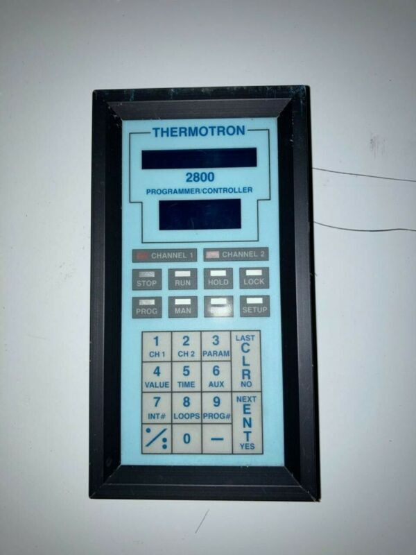 Thermotron 2800 Display Programmer / Controller