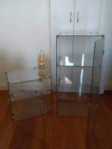 Gl Chrome Modular Display Cabinets