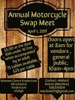 ANNUAL MOTORCYCLE SWAP MEET