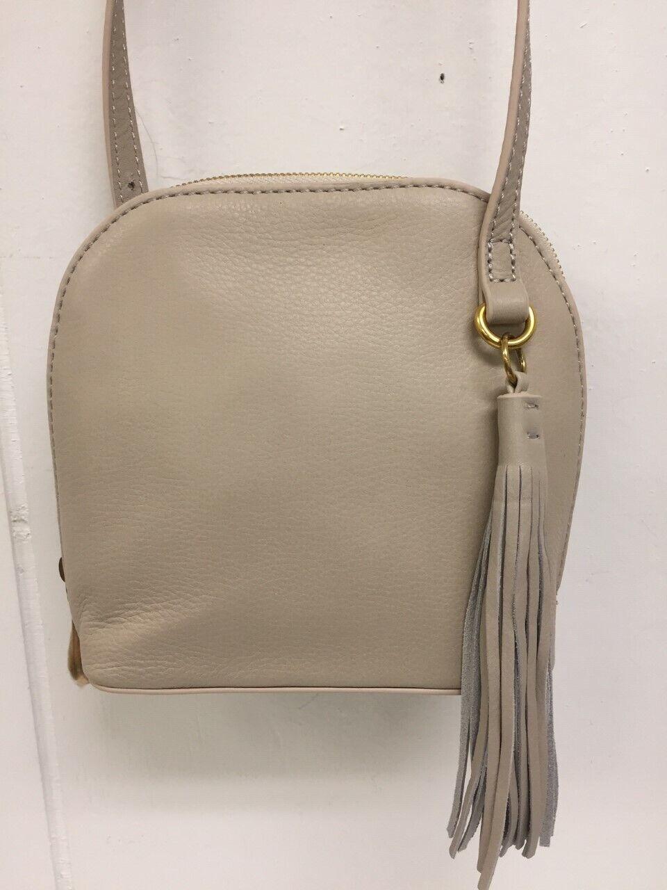 Hobo Bags Genuine Leather Nash Oyster Purse Crossbody Bag Ne