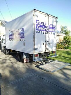 Cost Less furniture removals /small move  locally and country as