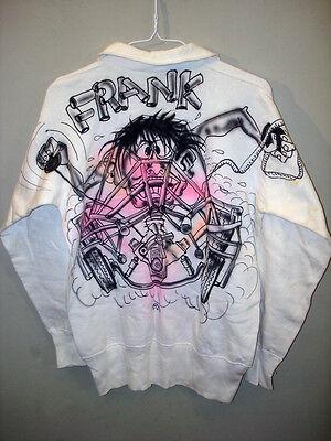 Vintage 1960's Ed Roth Weirdo Sweat Shirt, Monster,Original Art,Kustom Kulture,T