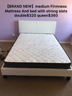 Brand new medium firmness mattress single$100,double$150,queen$170
