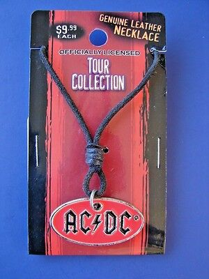 GENIUNE RARE 2006, OFFICIALLY LICENSED, AC/DC TOUR COLLECTION NECKLACE