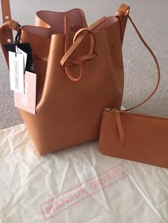Brand new authentic MANSUR GAVRIEL bucket bag large Camello/Rosa Sydney City Inner Sydney Preview