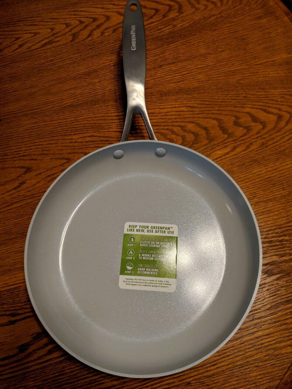 GreenPan Stainless Steel Venice Pro Ceramic Non-Stick Frypan