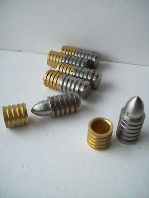 Rillendübel 10 Stück 4 mm Gr. 1 Modellbau bedarf Modellbaubedarf messing Stahl
