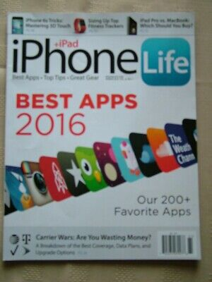 IPHONE + IPAD LIFE / SPRING 2016 / THE BEST APPS OF (The Best Animation App)
