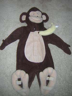 3-6 Month Monkey Halloween Costume (Old Navy MONKEY Furry Kids Halloween Costume by Old Navy Size 3-6)