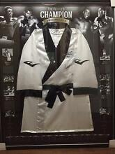 Muhammad Ali hand signed robe Rare limited edition of only 61 Bayswater Knox Area Preview