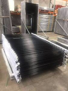 Pool Fencing Panels 1500mm (H) x 2400mm (W) Black - Certified Arndell Park Blacktown Area Preview