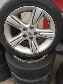 "17"" Tyre and Wheels USED FORD LEXUS KIA TOYOTA NISSAN SUZUKI Fawkner Moreland Area Preview"