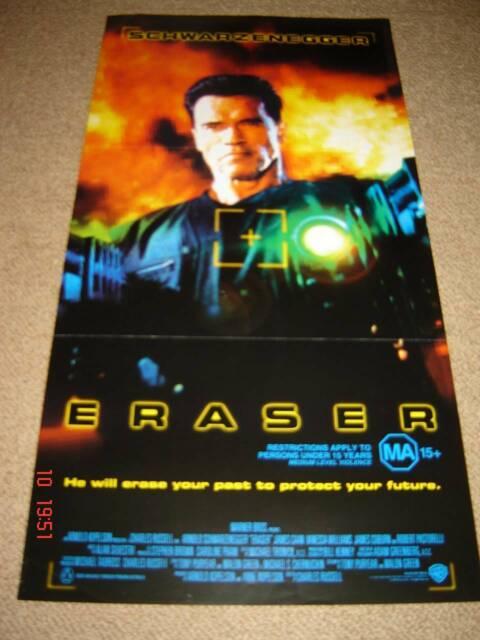 Original Cinema Daybill For Eraser 1996 A Schwarzenegger Collectables Gumtree Australia Hornsby Area Thornleigh 1255509382
