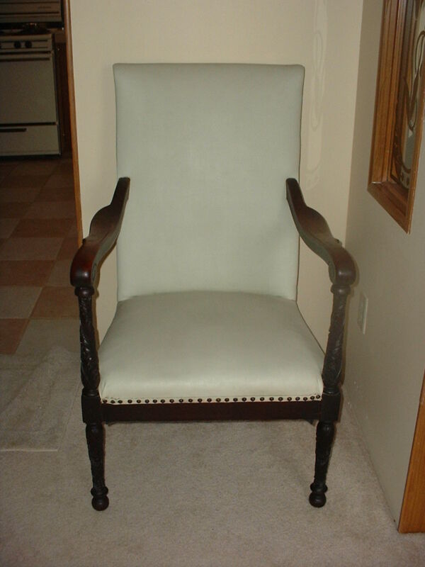 Rare NY Federal NeoClassical Lolling Arm Chair(c.1815)