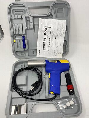 Hakko Fr300 Desoldering Rework Tool W Case Instruction Manual And Tools