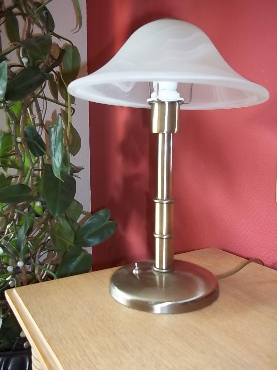 Honsel lampe tischlampe schreibtischlampe stehlampe for Runde lampe