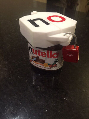 Nutella Lock for Nutella Chocolate and Hazlenut spread