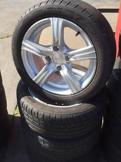 """15"""" Wheel and Tyre Package USED FORD FOCUS Fawkner Moreland Area Preview"""