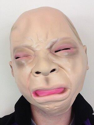 Weinendes Baby Maske Latex Kinder Tränen Maskenkostüm Gesicht