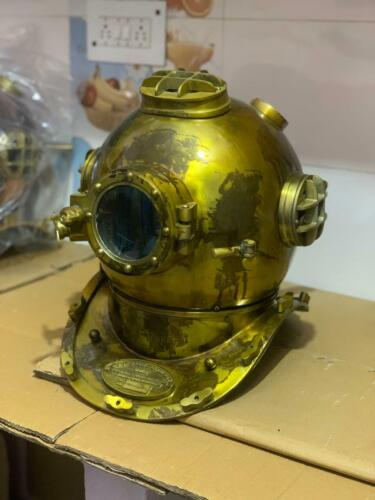 US navy diving helmet antique divers helmet full size for home decor gift