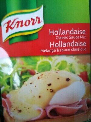NEW KNORR CLASSIC HOLLANDAISE SAUCE MIX SACHETS 26g x 2 (FREE POST)