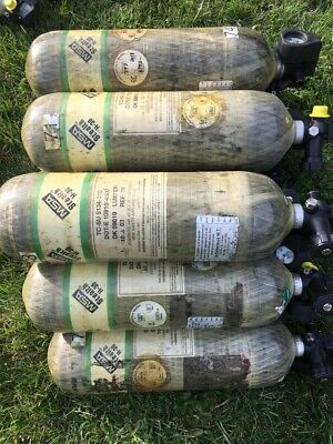 2003 H-30 Scba Compressed Air Tank Cylinder 4500 Psi Msa Good Condition.