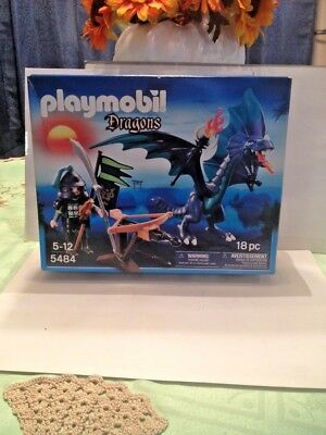 BRAND NEW PLAYMOBIL SHIELD DRAGON  KIDS BUILDING PLAYSET 5484 18 PIECES