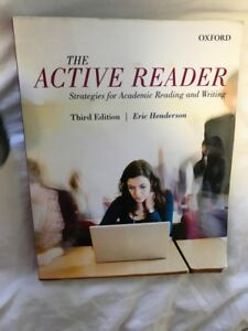 The Active Reader Third Edition by Eric Henderson book