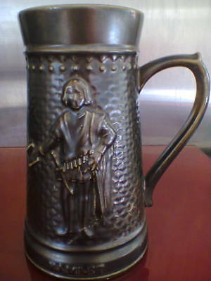 HAMLET TANKARD BY LORD NELSON POTTERY, ENGLAND, VINTAGE COLLECTABLE, MANCAVE
