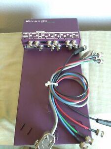 Miranda VTR-100 Analog to Digital Bi-Directional Media Converter with Cables