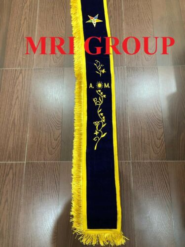 OES Associate Matron Sash, OES SASHES , ORDER OF EASTRN STAR SASH (STYLE A)