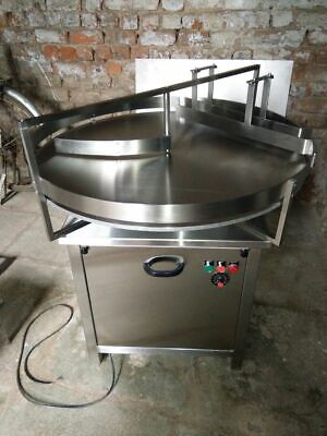 Masterly Stainless Steel 36 Dia. Accumulating Rotary Table 220v Signal Phase