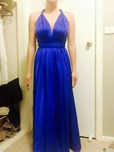 Gorgeous Sheike blue versatile long dress Bolwarra Maitland Area Preview
