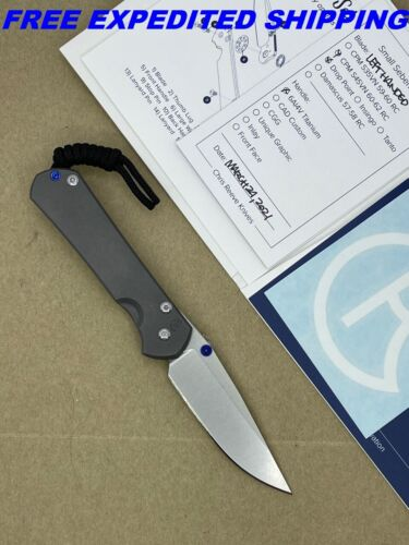 🌟 NEW CHRIS REEVE KNIVES SMALL SEBENZA 31 DROP POINT S45VN LEFT HANDED S31-1001