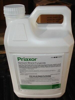 Basf Priaxor Xemium Brand Fungicide 2 x 2.5 Gallon Containers NEW Factory Sealed
