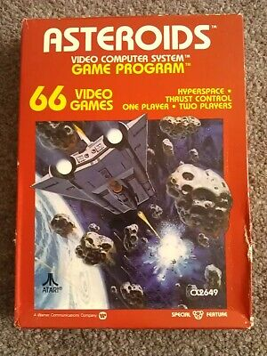 ASTEROIDS (still factory sealed) game for Atari 2600 or VCS