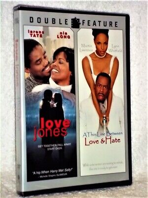 A Thin Line Between Love  Hate/Love Jones (DVD, 2009) NEW Martin Lawrence