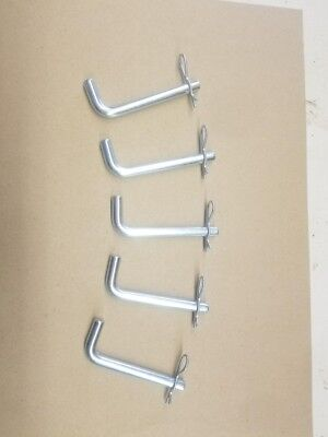Box Blade Ripper Shank Pins Lot Of 5