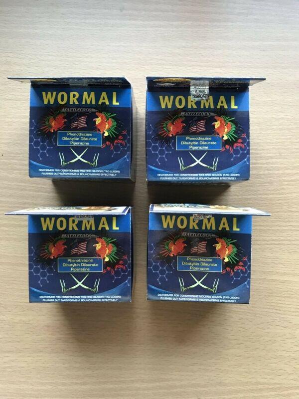 1 Box of wormal 100 Tablets Chicken Wormer Dewormer Gamefowl Gallos